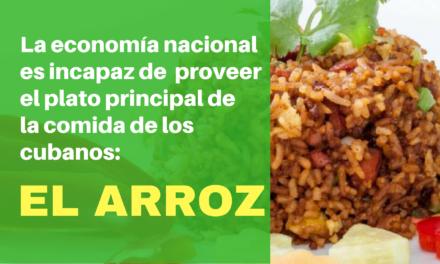 La economía nacional es incapaz de  proveer el plato principal de la comida de los cubanos: el arroz