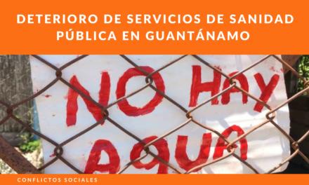 Deterioro de servicios de sanidad pública en Guantánamo