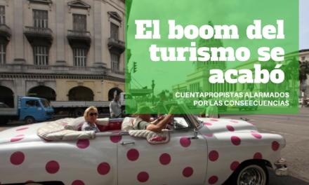 El boom del turismo se acabó.  Cuentapropistas alarmados por las consecuencias en un contexto de restricciones