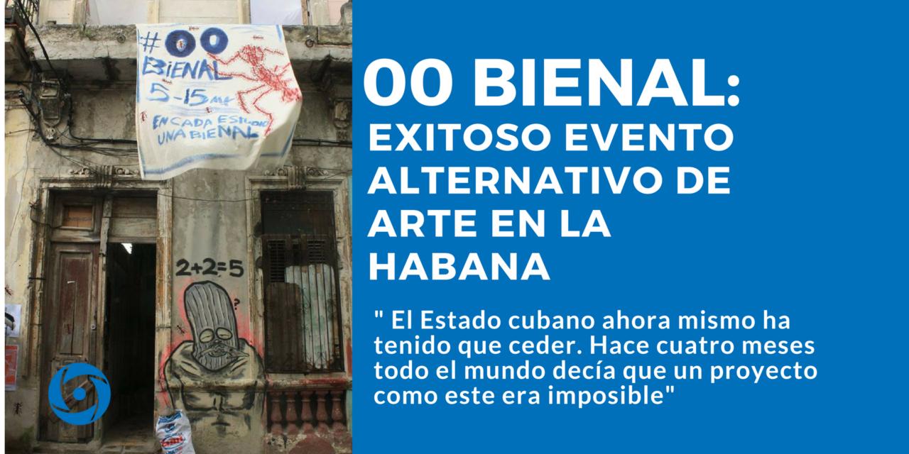 00 Bienal:  exitoso evento alternativo de arte en La Habana