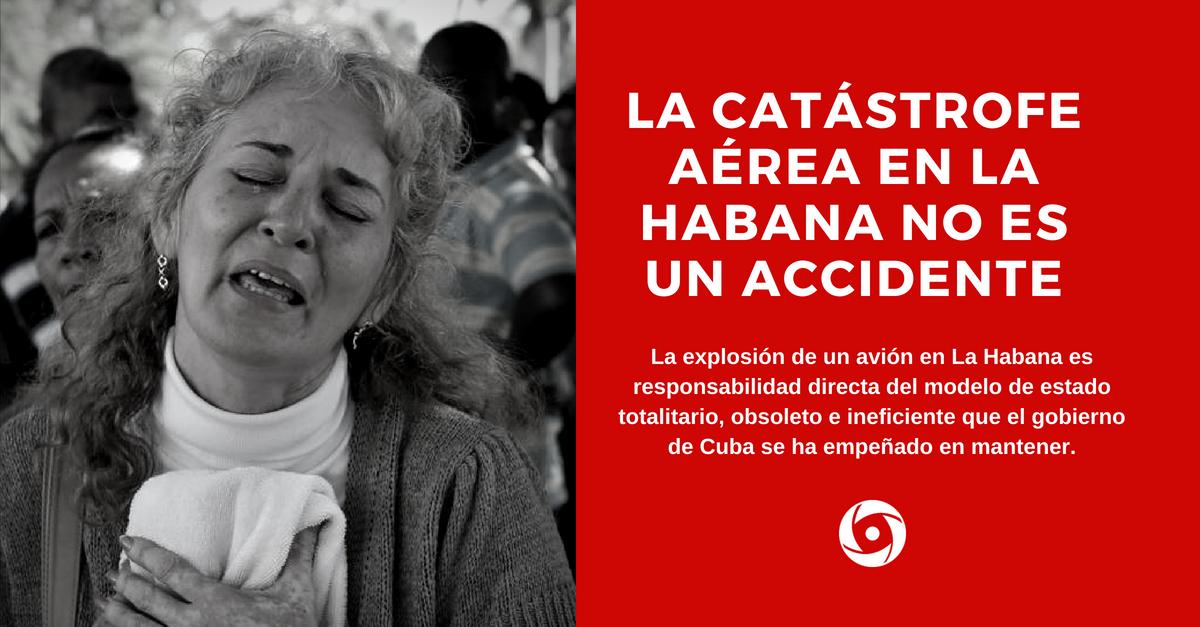 La catástrofe aérea en La Habana no es un accidente