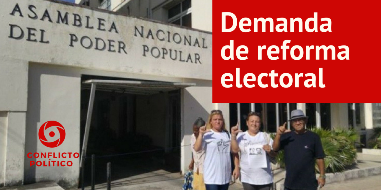Demanda de reforma electoral