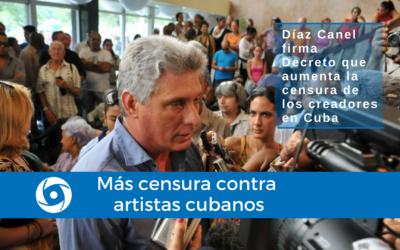 Más censura contra artistas cubanos
