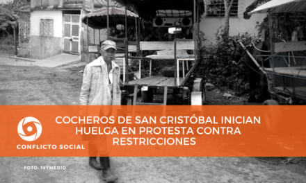 Cocheros de San Cristóbal inician huelga en protesta contra restricciones