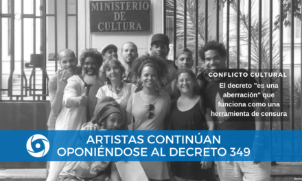 Artistas continúan oponiéndose al Decreto 349
