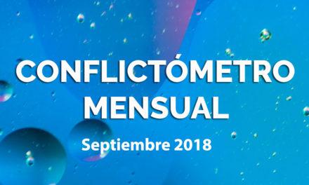 CONFLICTÓMETRO SEPTIEMBRE 2018 / DECRETO 349:DEL COMENTARIO A LA PROTESTA COLECTIVA Y PÚBLICA
