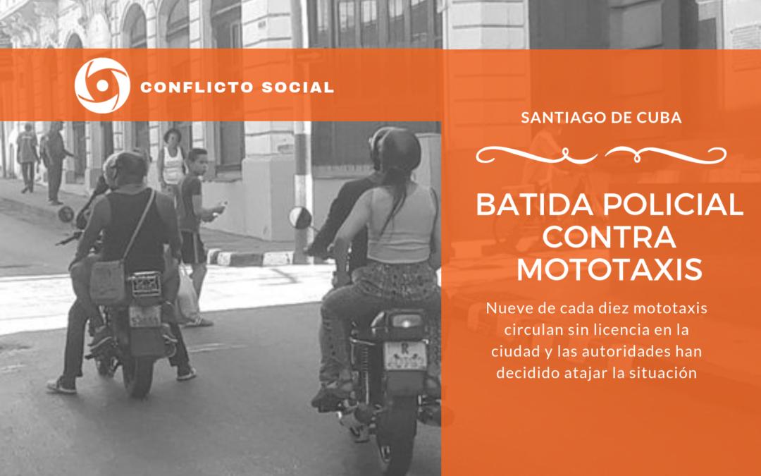 BATIDA POLICIAL CONTRA MOTOTAXIS