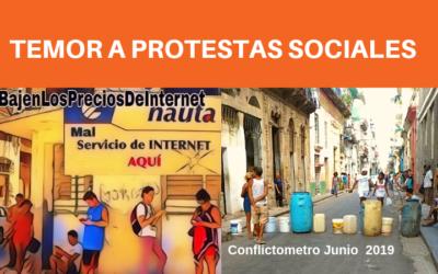 Conflictometro Junio: TEMOR A PROTESTAS SOCIALES