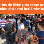 Usuarios de SNet protestan ante la ilegalización de la red inalámbrica cubana