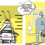 Brigada secreta de fumigación de mosquitos aniquila diplomáticos canadienses y estadounidenses