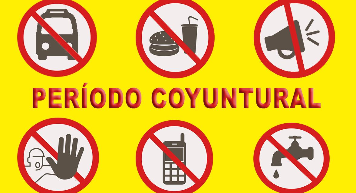 PERÍODO COYUNTURAL Conflictómetro de septiembre de 2019