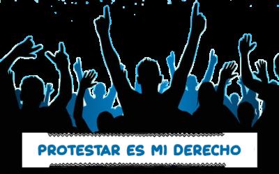 Las protestas pacíficas pero públicas, tienden a crecer. Conflictometro Julio 2019