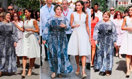 Los mejores memes del vestido de la Primera Dama en Cuba