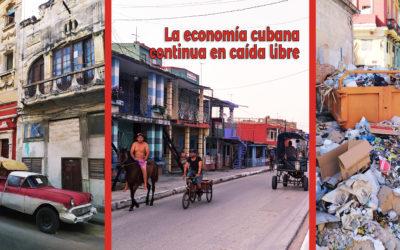 La economía cubana continua en caída libre. Conflictometro octubre