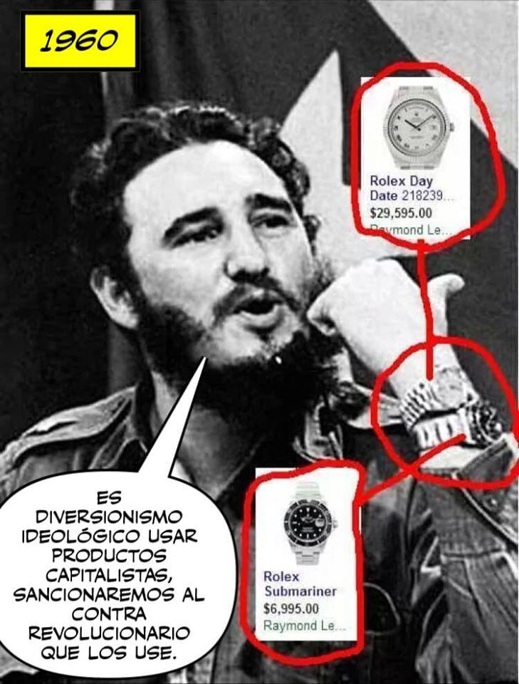 mejores memes de Fidel Castro