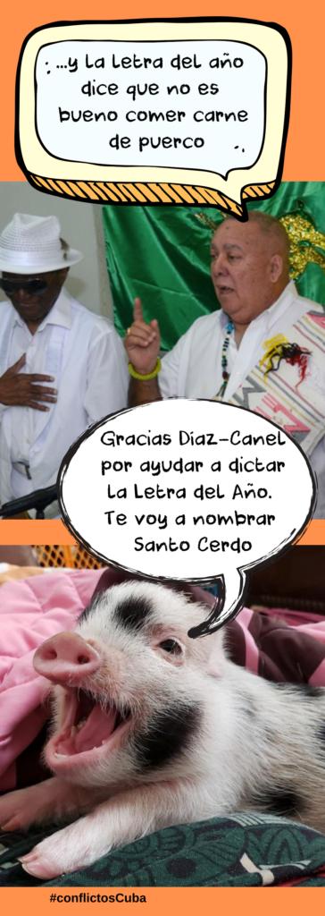 Letra del año en Cuba
