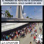 Los mejores memes del 1ero de Mayo en Cuba