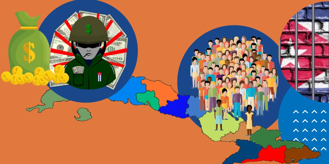 Los militares cubanos serán más ricos y los cubanos de a pie más pobres