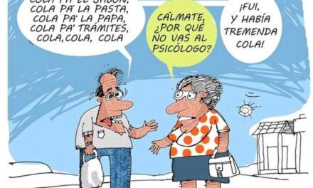 Los mejores memes de las colas en Cuba
