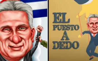 Los mejores memes del puesto a dedo: Díaz Canel