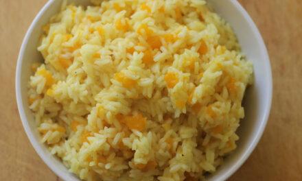 Comer arroz con calabaza es un lujo