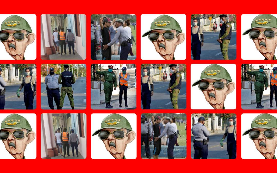 Raúl Castro tiene miedo y lanza tropas para meter miedo