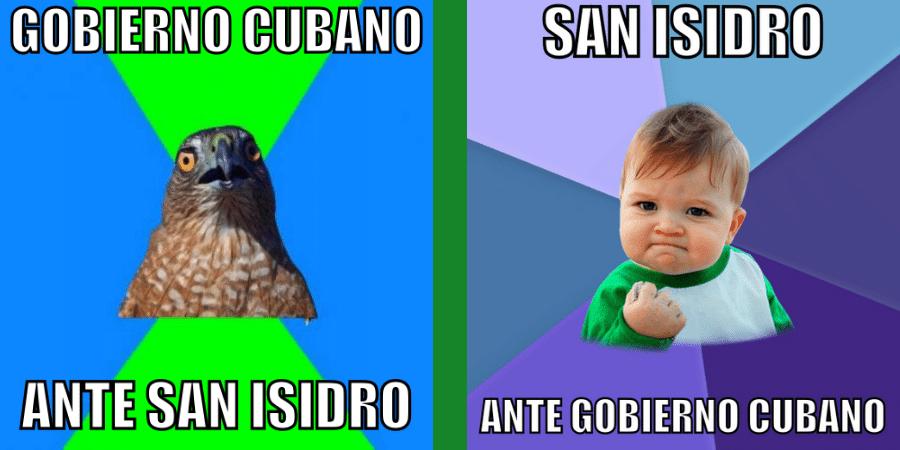 El meme que nunca existió: Movimiento San Isidro