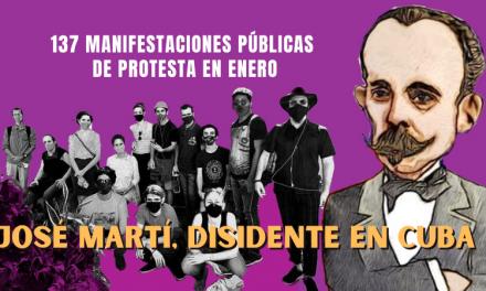 JOSÉ MARTÍ, DISIDENTE EN CUBA