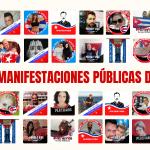 CUBA: 184 MANIFESTACIONES PÚBLICAS DE PROTESTA