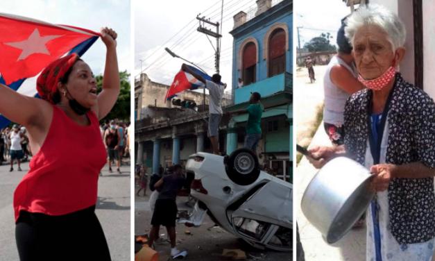 11 de julio, la mayor rebelión política en la historia de Cuba